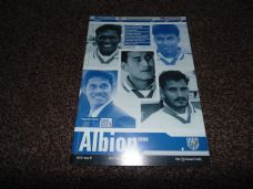 West Bromwich Albion v India, 2000/01[Fr]